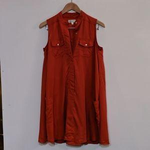 Neiman Marcus Orange Dress